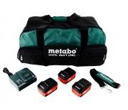 Комплект аккумуляторных батарей Metabo Power Combo SET 4.0