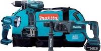 DK1890 Makita Набор аккумуляторных инструментов Li-Ion